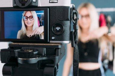 fashion stylist vlog video streaming showroom