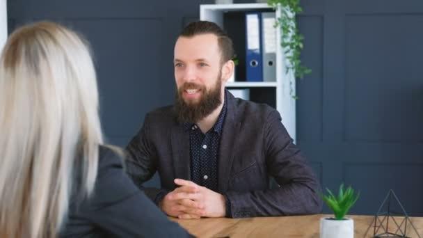 job interview applicant company vacancy handshake