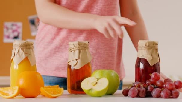 zdravý vitamín nápoj domácí organická šťáva