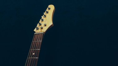 professional music class headstock electric guitar