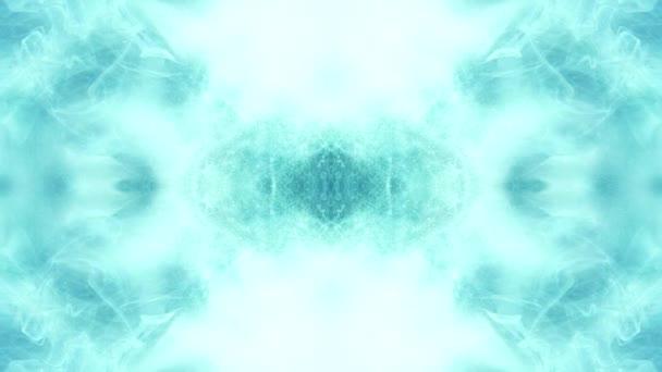 kouř průtok nebe modrá šířící pára bílá záře