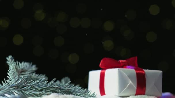 zimní dovolená vánoční dárek slavnostní dekorace