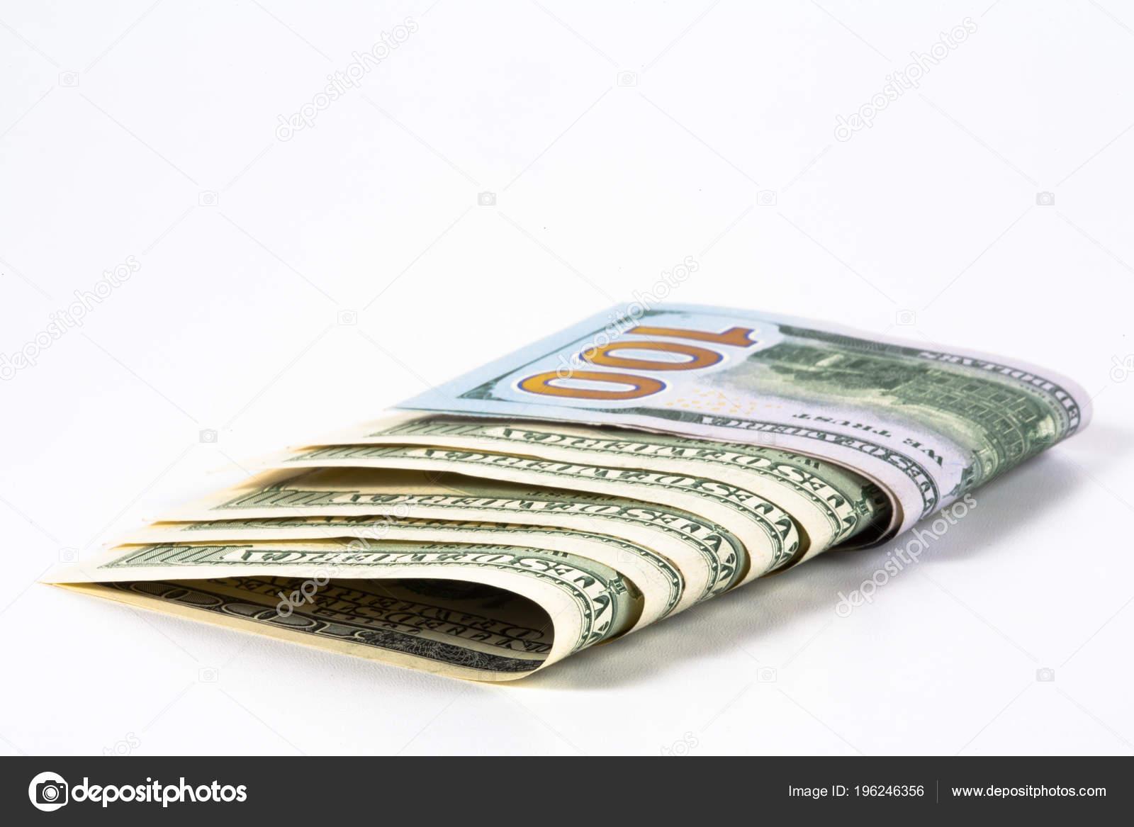 Dollar Model Dollar Banknote Concept Idea Time Value Money