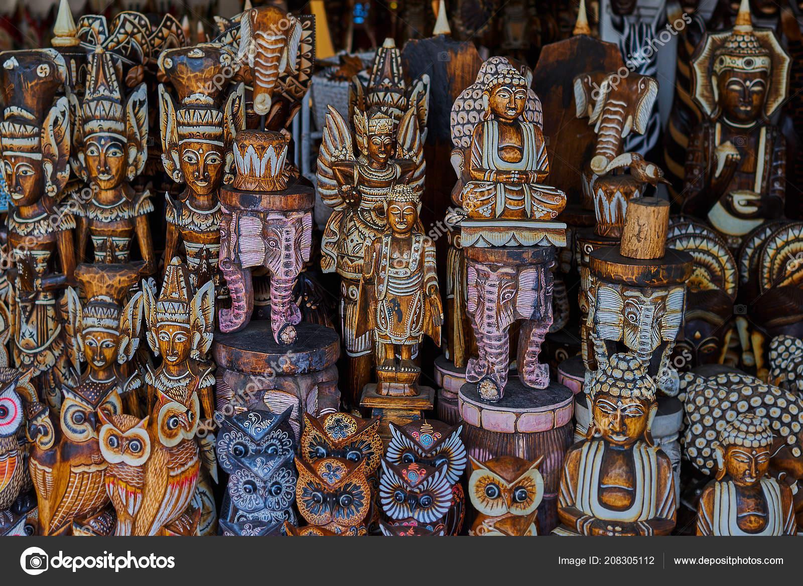 Typical Souvenir Shop Selling Souvenirs Handicrafts Bali Famous Ubud