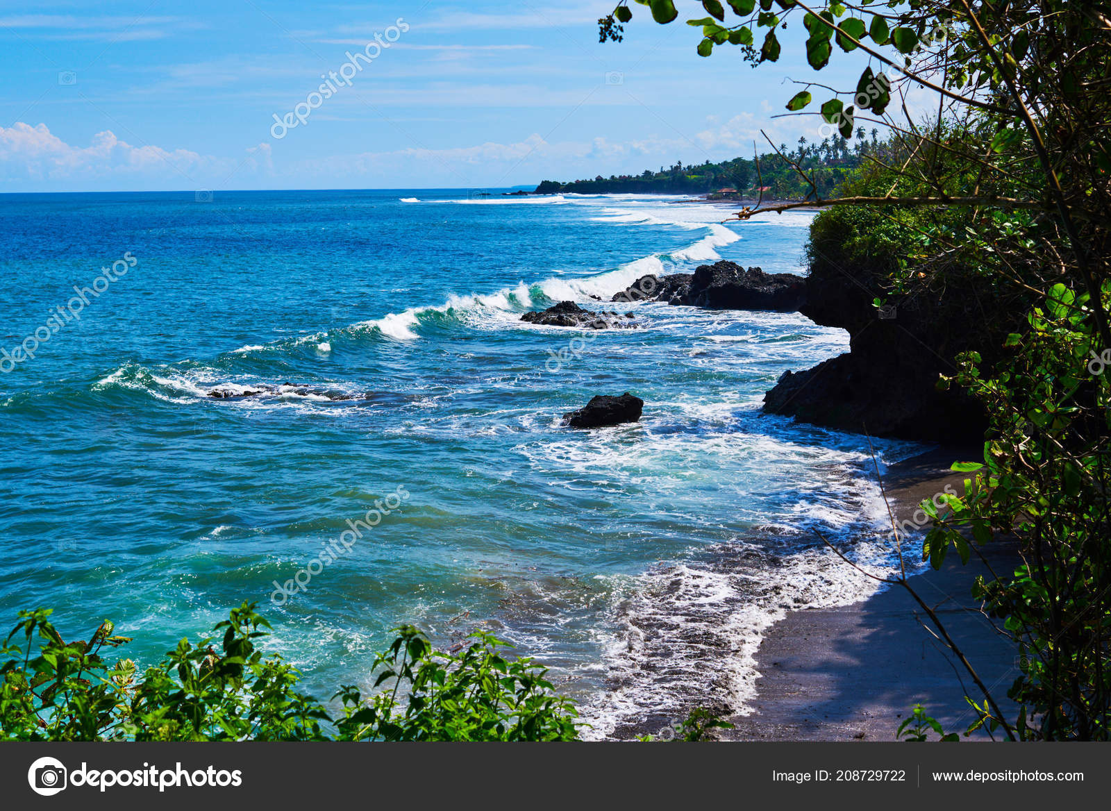 Pictures Ocean Scenery Wallpaper Beach Scene Tropical