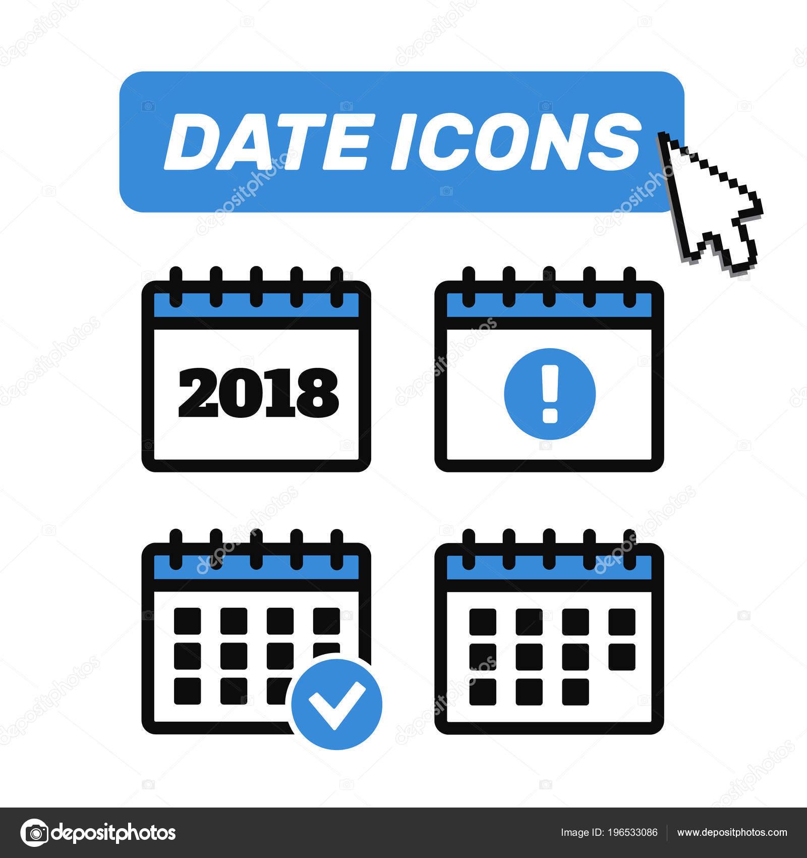 Calendario Vector.Icones Calendario Vetor Icone Evento Sinal Vector Calendario Vector