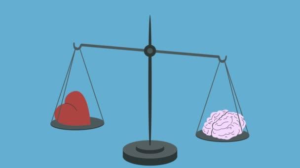 Brain Equal Heart on Scales in Loop