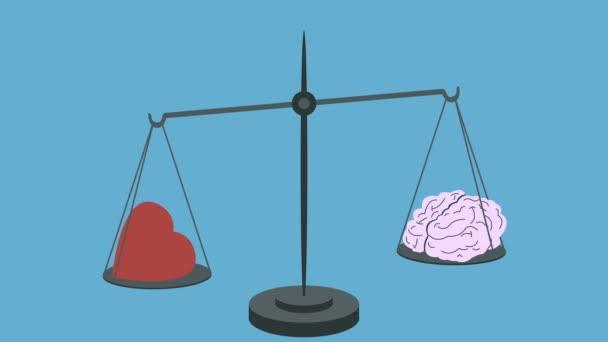 Srdce Vs mozek na váhy