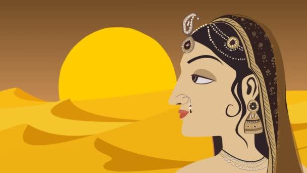 traditionelle indische Hindu-Frau