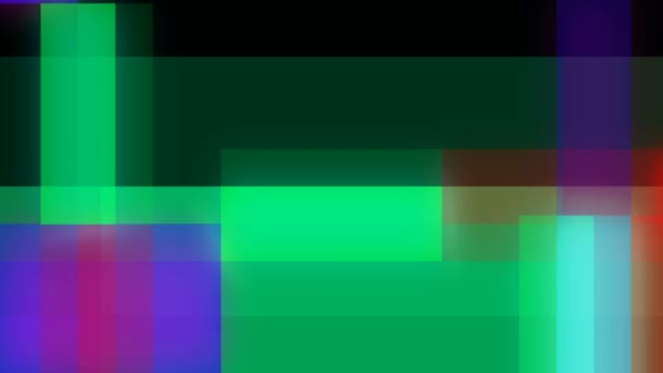 Pixel Glitches Colorful Background