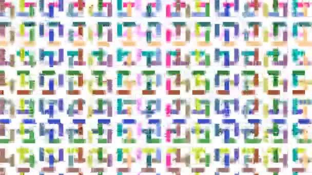 abstraktní barevné čáry pozadí