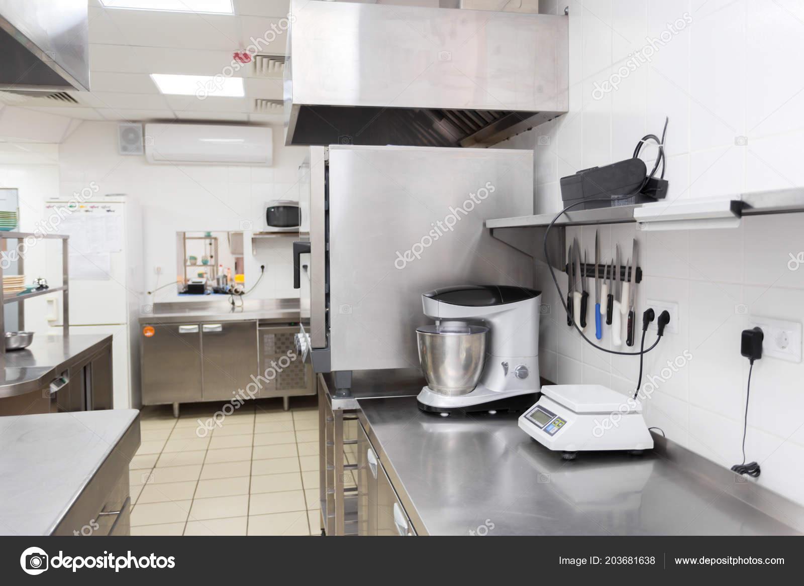 Modern Kitchen Equipment Restaurant — Stock Photo © Fotofabrika ...