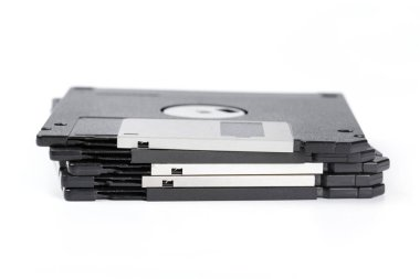 floppy disk isolated close up