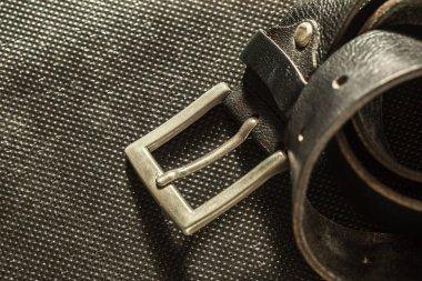 fashionable male leather belt