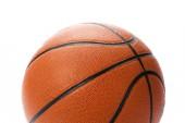 Fotografie basketbalový míč nad bílým pozadím
