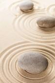 Zen zahrady meditace kamenné pozadí