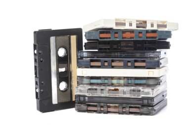 music audio tapes, analogue obsolete technology
