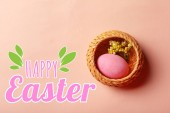 happy easter background. religious holiday
