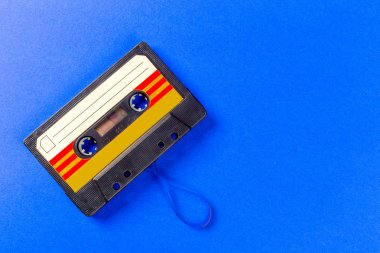 vintage cassette tape , close-up view
