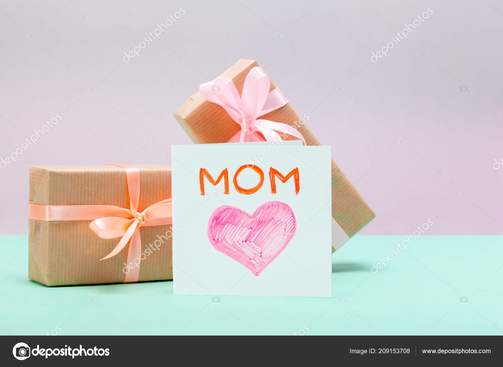 Happy Mothers Day Greeting Card Stock Photo Fotofabrika 209153708