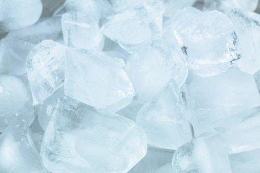 Close up Ice cubes