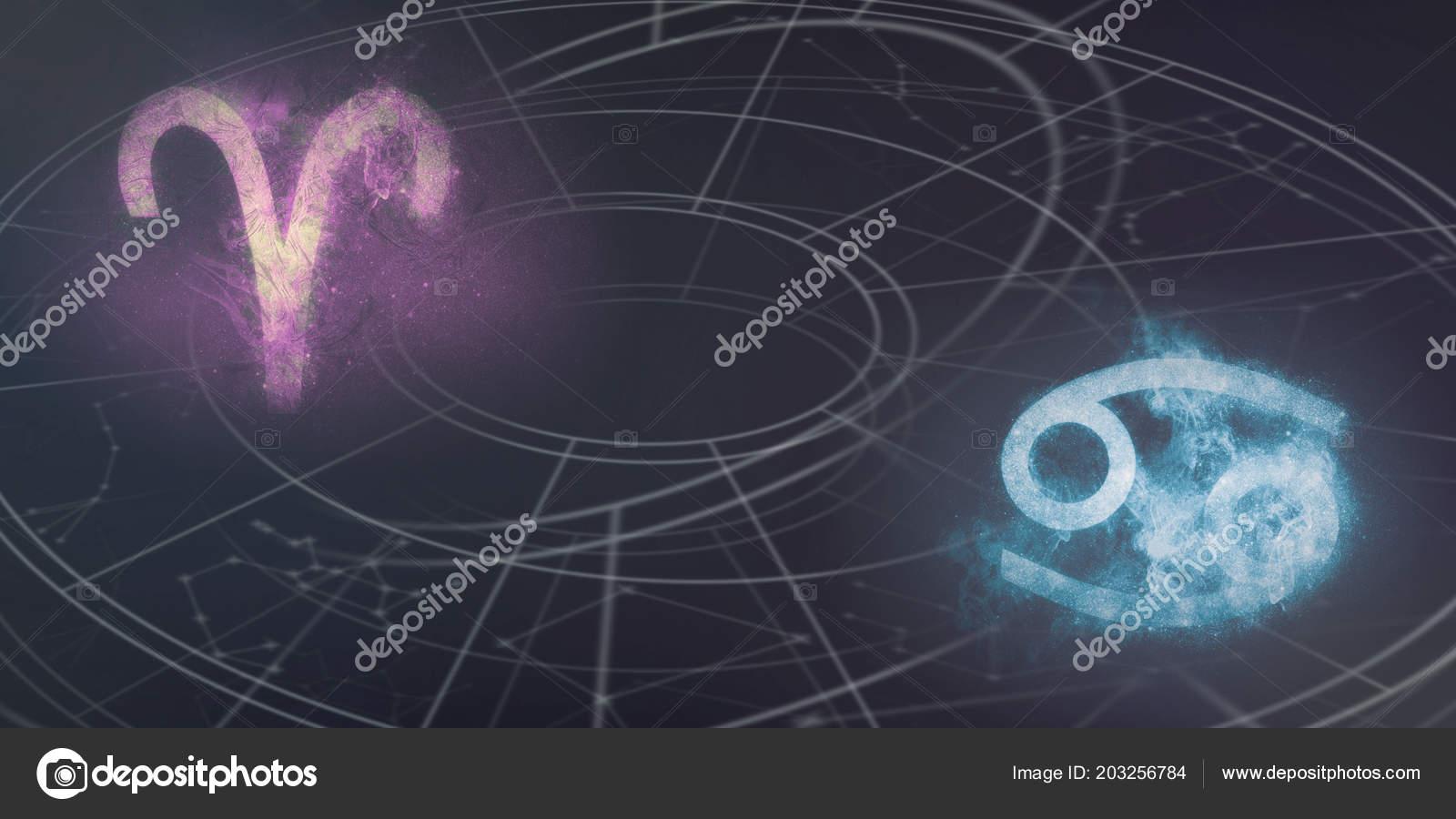 Гороскоп совместимости Овен и Рак. Совместимость знаков зодиака Овен и Рак изоражения