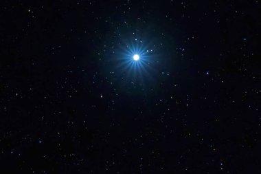 Sirius Brightest star on Night sky, Sirius Star