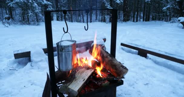 Instance Soup in Winter Camping.