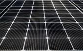 Sonnenkollektoren aus nächster Nähe