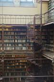 Amsterdam, Nizozemsko - 22. července 2019: Knihovna v Rijksmuseu