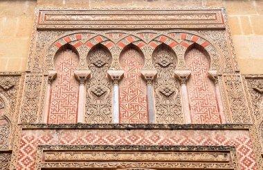 """Картина, постер, плакат, фотообои """"дверь и фасад эспириту санто, мавританский фасад великой м """", артикул 266843060"""