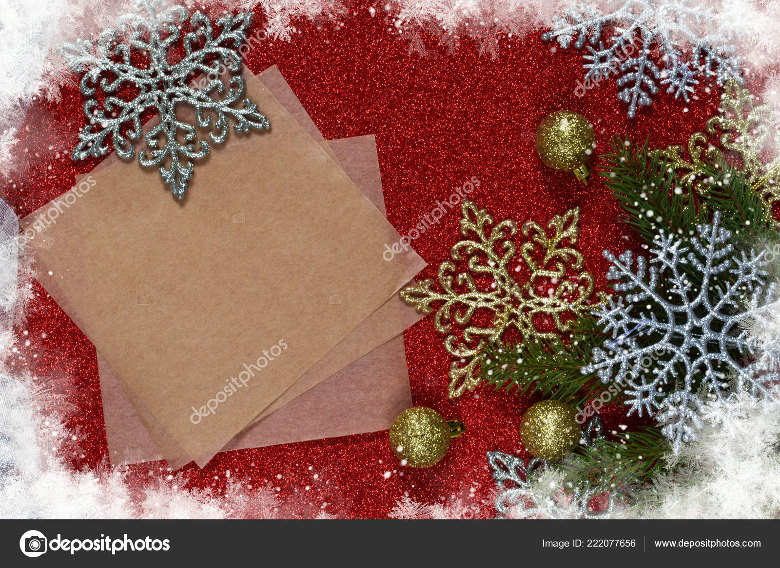 new year card with space for text decoration for the new year merry christmas and happy new year photo by demchenkov dmailru