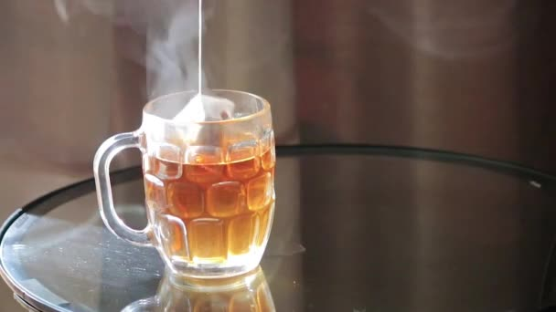 Steaping sáček čaje
