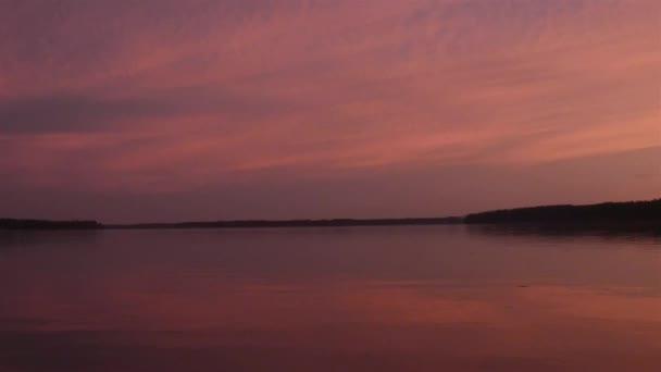 puget hang sárga narancssárga és rózsaszín napnyugta