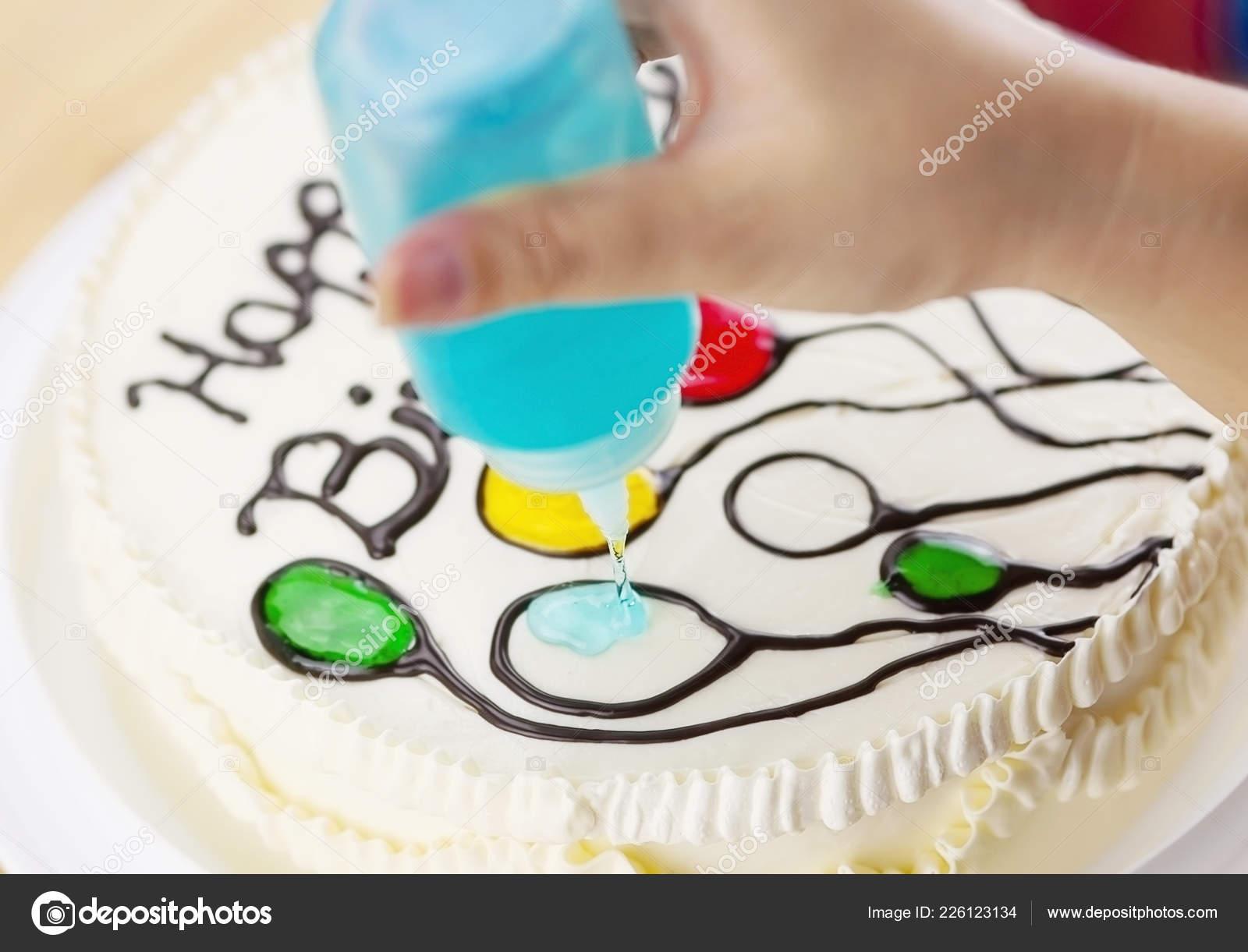 Pleasant Birthday Cake Decoration Using Green Yam Making Colorful Balloon Birthday Cards Printable Benkemecafe Filternl