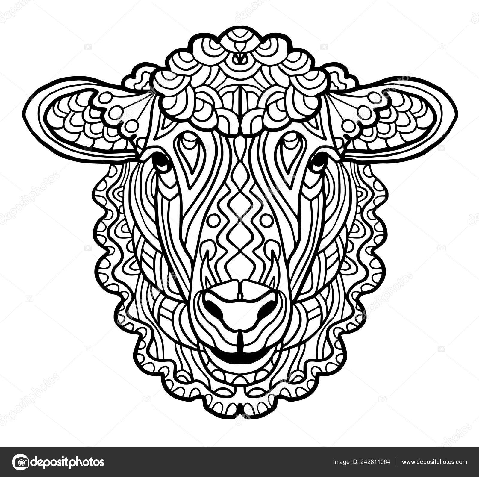 Zen Antistress Free Adult 23 Coloring Pages Printable | 1593x1600
