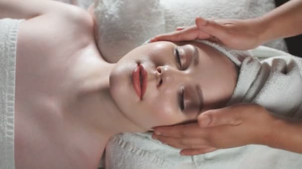 Face massage. Healthy skin and body care.