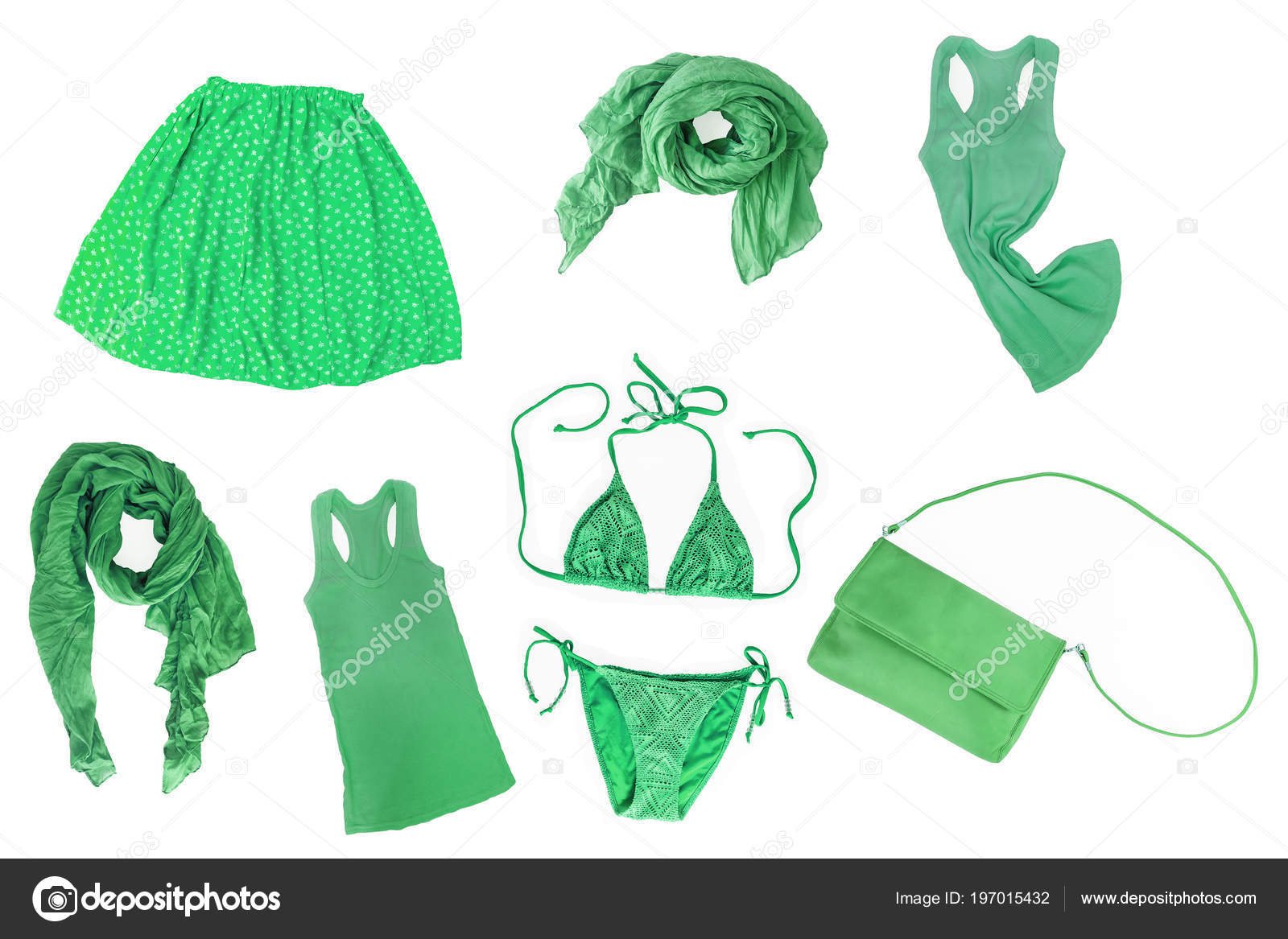 c1063cd7dec Κολάζ Μόδας Πράσινο Καλοκαίρι Άνοιξη Γυναικεία Ρούχα Και Αξεσουάρ ...