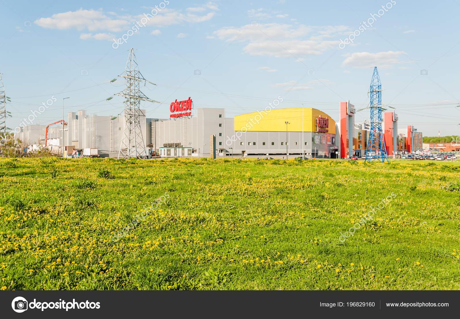 москва россия мая 2018 торгово развлекательный центр вясна
