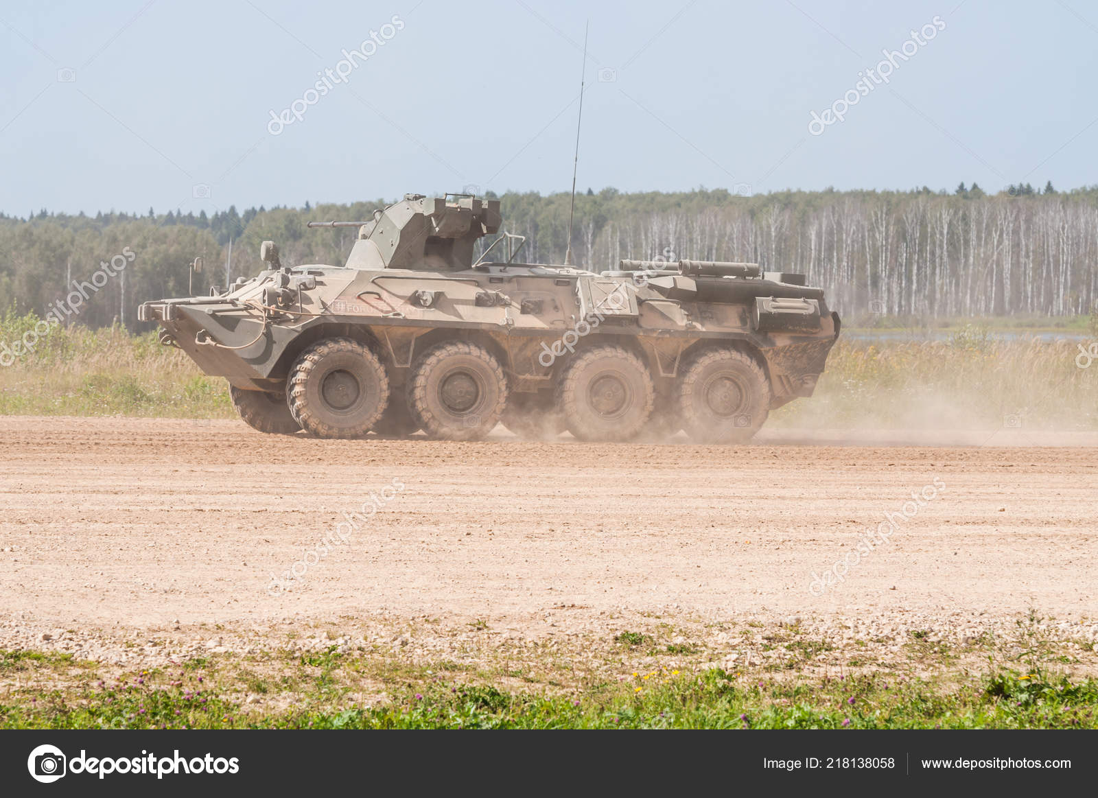 Alabino Military Training Ground Moscow Oblast Russia August