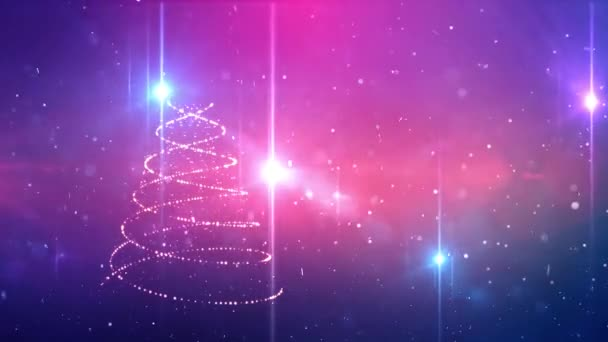 Vánoční strom zimní pozadí
