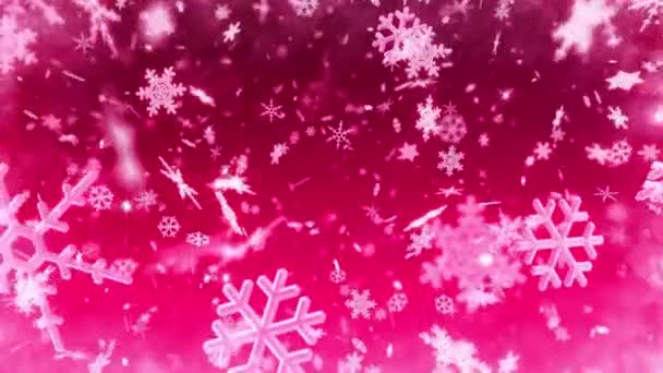 Winter holidays snowflakes background