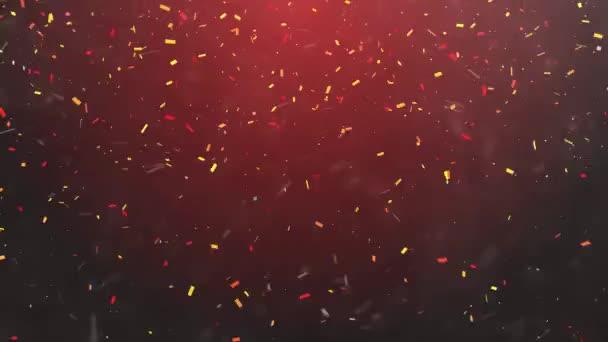 Nový rok oslava konfety abstraktní pozadí