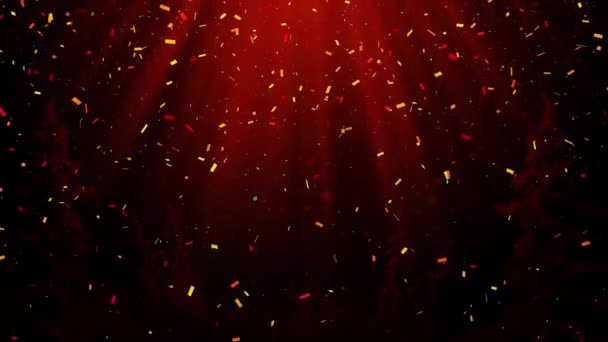 Újév ünnepe absztrakt konfetti háttér