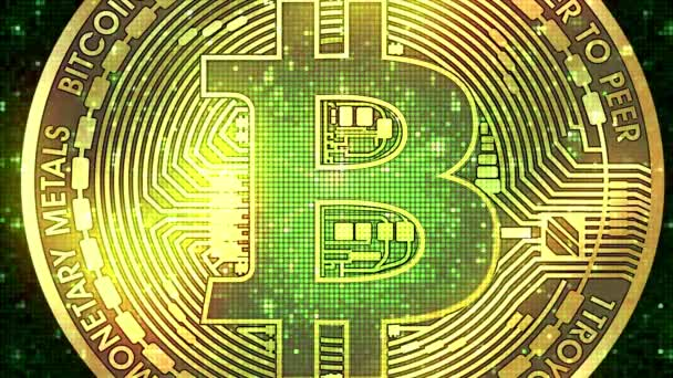 Bitcoin virtual currency background