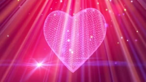 St Valentines heart background