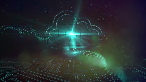 Cloud computing technology, tech data storage