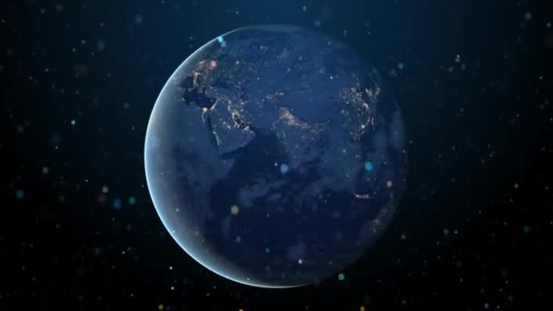 Global communication earth background
