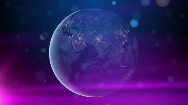 globale Kommunikation Erde Hintergrund
