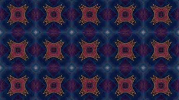 Háttér absztrakt retro Kaleidoszkóp